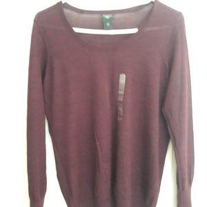 Basic Maroon Sweater